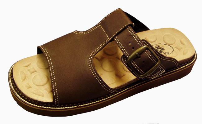 Pánské pantofle SANTÉ N56012 hnědé 63e2687d16